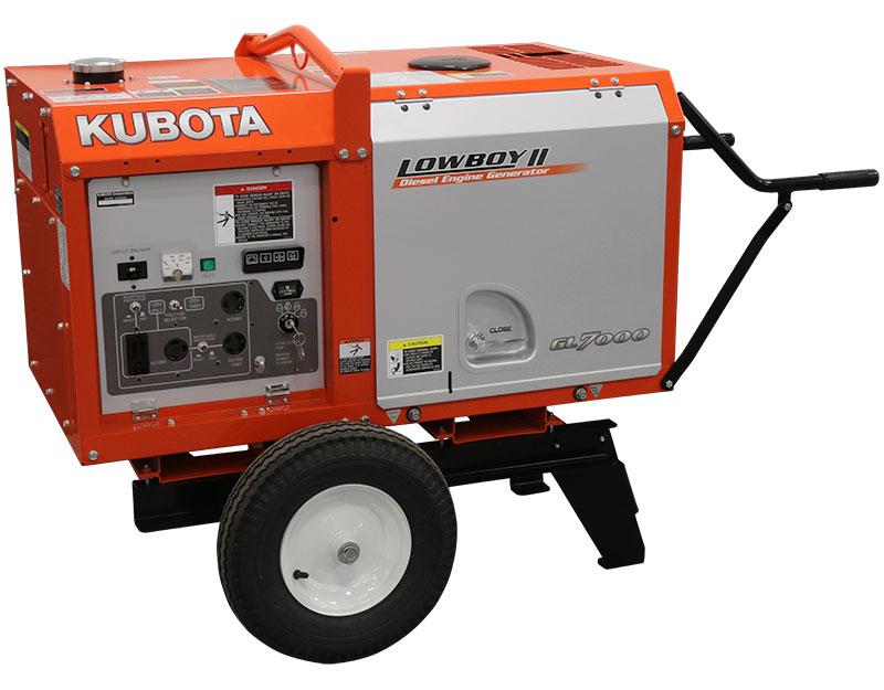 Cart for Kubota Lowboy II GL Generators