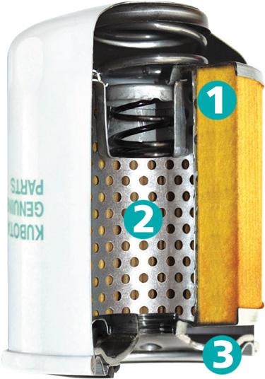 Kubota Oil Filter Details